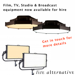 Film & TV Lighting now available